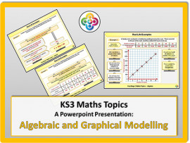 Algebraic and Graphical Modelling and Formulae for KS3