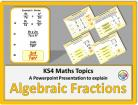 Algebraic Fractions for KS4