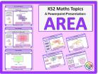 Area for KS2