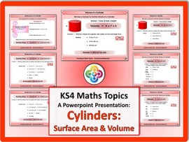 Cylinders: Surface Area & Volume for KS4