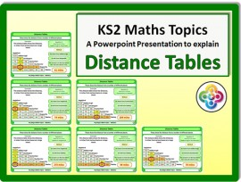 Distance Tables for KS2
