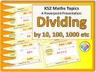 Dividing by 10, 100, 1000 for KS2