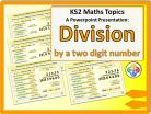 Division by a Two Digit Number for KS2