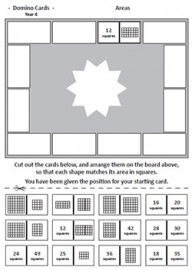 The Big Book of Mathematics DOMINO CARDS for Year 4