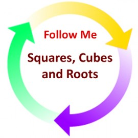 Squares, Cubes and Roots:  Follow Me PDF