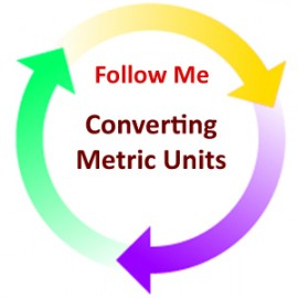 Converting Metric Units:  Follow Me PDF