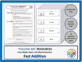 Fast Addition:  Follow Me PDF