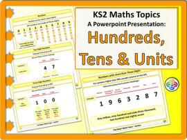 Hundreds, Tens and Units for KS2