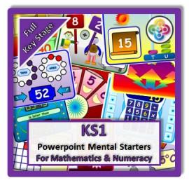 FULL KS1 Powerpoint Mental Starters