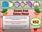 Escape from Exmas Manor KS2