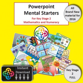 Full KS2 Powerpoint Mental Starters Instant Pay and Download