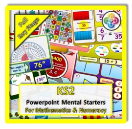 FULL KS2 Powerpoint Mental Starters