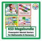 Full KS3 Megabundle