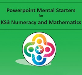KS3 Powerpoint Mental Starters Invoice Pay