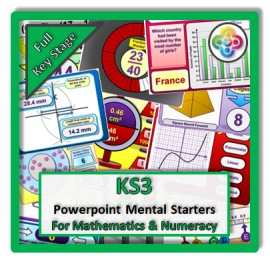 KS3 Powerpoint Mental Starters