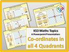 Co-ordinates in all four Quadrants for KS3