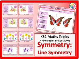 Symmetry:  Line Symmetry for KS2