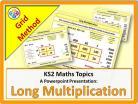 Long Multiplication - Grid Method for KS2