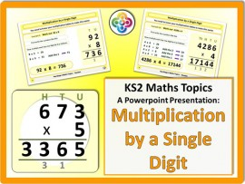 Multiplication by a Single Digit for KS2