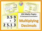 Multiplying Decimals for KS2