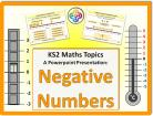 Negative Numbers for KS2
