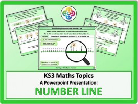 Number Line for KS3