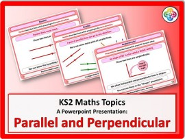 Parallel and Perpendicular for KS2