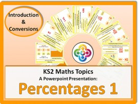 Percentages 1 (Introduction and Conversions) for KS2