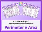 Perimeter v Area for KS2