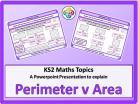 Perimeter v Area for KS2