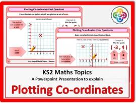 Plotting Co-ordinates for KS2