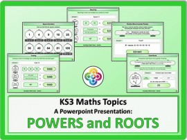 Powers and Roots for KS3