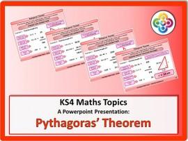 Pythagoras' Theorem for KS4
