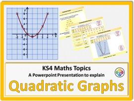 Quadratic Graphs for KS4