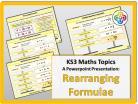 Rearranging Formulae for KS3