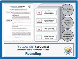 Rounding:  Follow Me PDF