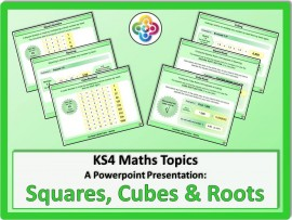 Squares, Cubes and Roots for KS4