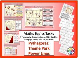 Pythagoras: Theme Park Power Lines