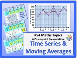 Time Series and Moving Averages for KS4