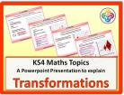 Transformations for KS4