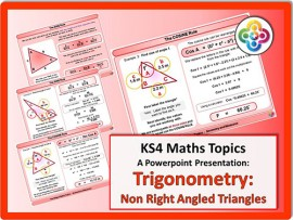 Trigonometry: Non Right Angled Triangles for KS4