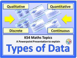 Types of Data for KS4