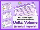 Units: Volume (Metric & Imperial) for KS2