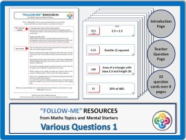 Various Questions 1:  Follow Me PDF