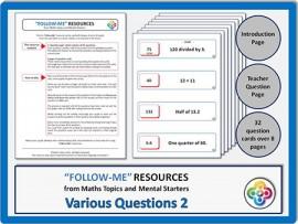 Various Questions 2:  Follow Me PDF