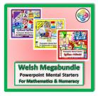 All WELSH Powerpoint Mental Starters