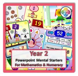 Year 2 Powerpoint Mental Starters