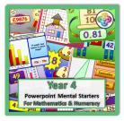 Year 4 Powerpoint Mental Starters