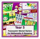 Year 5 Powerpoint Mental Starters