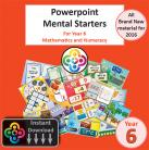 Blwyddyn 6 Powerpoint Mental Starters Instant Pay and Download *WELSH*